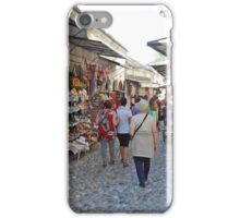 Shops in Mostar iPhone Case/Skin