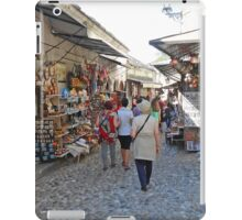 Shops in Mostar iPad Case/Skin