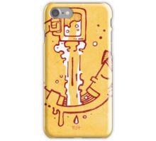 Drinking beer iPhone Case/Skin