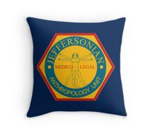 THE JEFFERSONIAN INSTITUTE  Throw Pillow