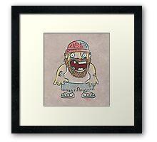 Toothless sailor Framed Print