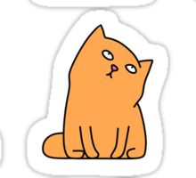 Nine cute kittens Sticker