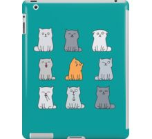 Nine cute kittens iPad Case/Skin