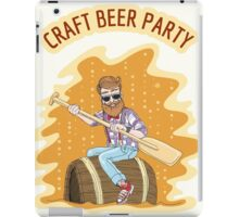 Craft Beer Party iPad Case/Skin