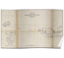 Civil War Maps 1487 Preliminary chart of western end of Florida Reefs including Tortugas Keys Poster