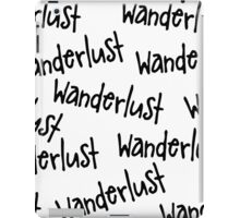 Wanderlust lp iPad Case/Skin