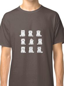 Nine cute white kittens Classic T-Shirt