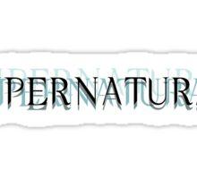 Supernatural Unofficial Logo Sticker