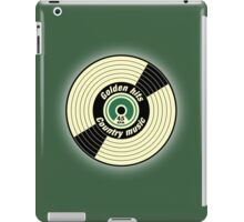 Golden Hits Country music Record  iPad Case/Skin