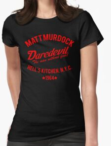 Matt Murdock - Daredevil Womens Fitted T-Shirt