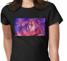 Illusions Of Sanity Womens Fitted T-Shirt