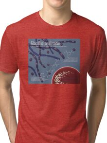 Bacillus anthracis Tri-blend T-Shirt