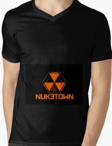 Nuk3town Mens V-Neck T-Shirt