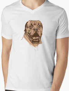 portrait of boxer dog in color and black and white T-Shirt