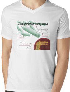 Pseudomonas aeruginosa Mens V-Neck T-Shirt