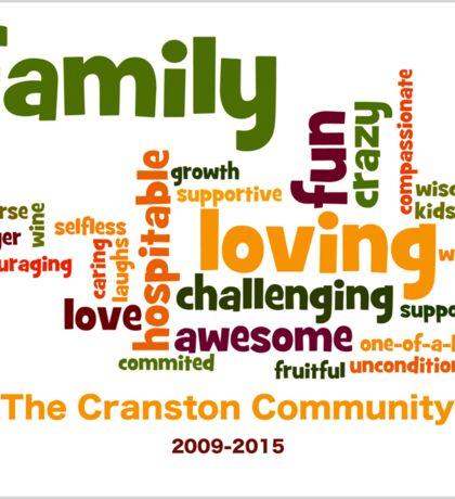 Cranston Community Sticker