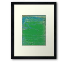 Korean Maple Wetlands Framed Print