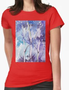 Evening shadows Womens Fitted T-Shirt