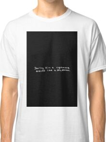 Taylor Swift Simple Blank Space Lyric Classic T-Shirt