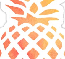 Pineapple Orange Watercolor Sticker