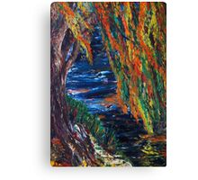 Boston and Colors of Fall Canvas Print