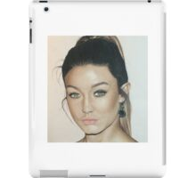 Gigi Hadid colored pencil iPad Case/Skin