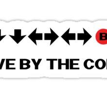 Nintendo Konami - Live by the Code  Sticker