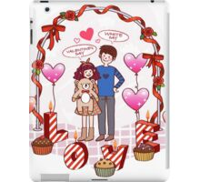 valentine day iPad Case/Skin