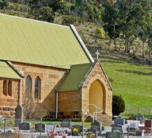 St Andrews Anglican Church, Ellendale, Tasmania, Australia Sticker