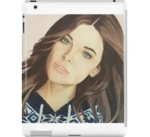 Barbara Palvin colored pencil iPad Case/Skin