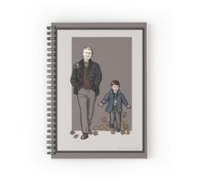Autumn Stroll Spiral Notebook