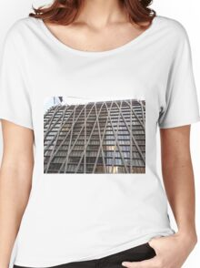Modern Architecture, Amsterdam Avenue, New York City Women's Relaxed Fit T-Shirt