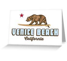 Venice Beach - California.  Greeting Card
