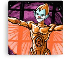 silverhawks copper kidd Canvas Print