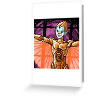 silverhawks copper kidd Greeting Card