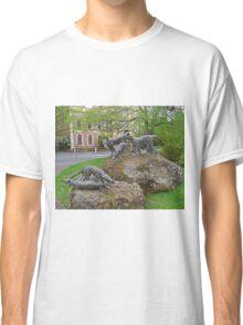 Thylacine statues, Launceston, Tasmania, Australia Classic T-Shirt