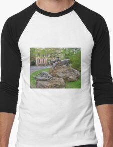 Thylacine statues, Launceston, Tasmania, Australia T-Shirt