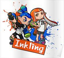 Team Inkling Splat (Eng) Poster