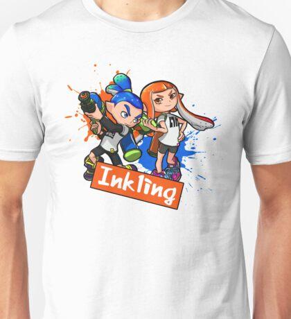 Team Inkling Splat (Eng) Unisex T-Shirt