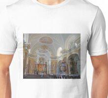 Inside the Franciscan Church, Budapest Unisex T-Shirt