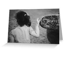 Bye bye turtle Greeting Card