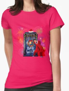 Happy New year from 10th Doctor Womens Fitted T-Shirt