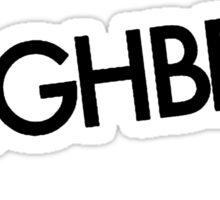 S L E I G H B E L L S Sticker