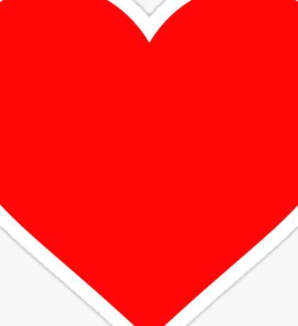 Valentine's Day Heart Sticker