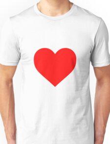 Valentine's Day Heart Unisex T-Shirt