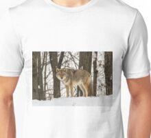 Winter coyote Unisex T-Shirt