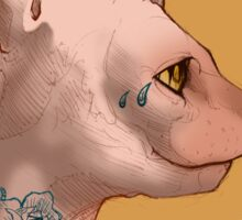 Tattoo Sphinx Cat Sticker
