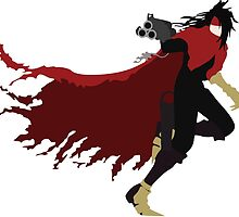 Vincent Valentine minimal by shevil