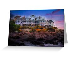 Cape Neddick Maine Scenic Vista Greeting Card
