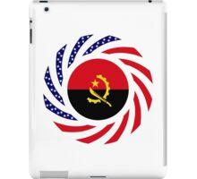 Angolan American Multinational Patriot Flag iPad Case/Skin